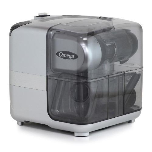 Omega- Cold Press 365® Masticating Slow Juicer with On Board Storage, Silver