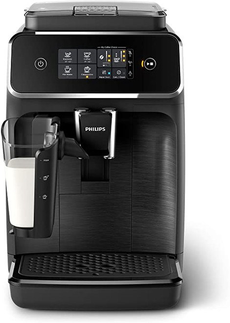 Philips - 2200 Fully Automatic Espresso Machine With Latte Go