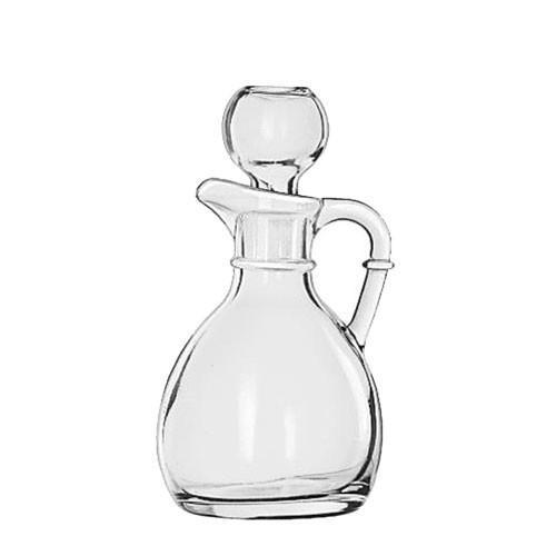 Libbey Glass - Oil Cruet and Stopper 6oz - 75305