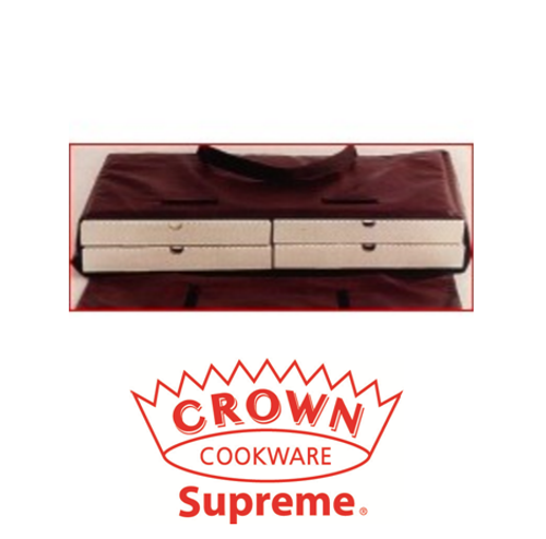 """Crown - Pizza Bag: Holds 2 Party Pizzas Or 4 16"""" Pizzas - 59232"""