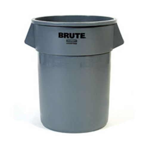 Rubbermaid - Grey Brute Container 32 Gal - 2632-GRY