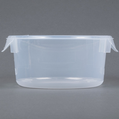 Rubbermaid - 1.9L. Clear Round Container - 5720-24