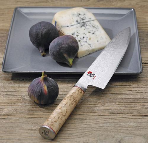 """Miyabi - 5000MCD-B 8"""" Birchwood Gyutoh Chef's Knife"""
