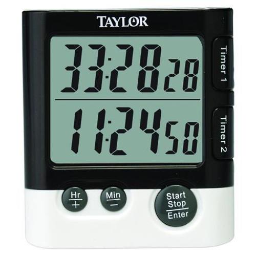 Taylor - Classic Series Timer Dual W/Clock - 5828