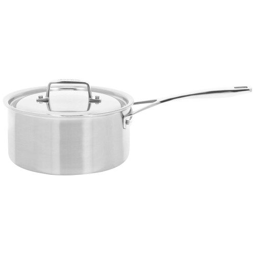Demeyere - 4 Qt Essential 5 Sauce Pan With Lid