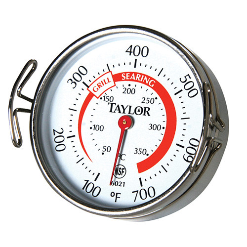 Taylor - Grill Surface Dial Thermometer - 6021