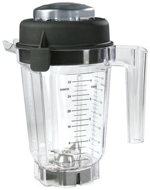 Vitamix - 32oz Container with Dry Blade, Lid And Whole Grains Book - 15845