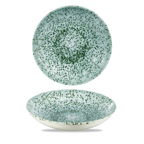 """Churchill - Mineral 9.75"""" Mineral Green Round Coupe Bowl  - 12/Case"""