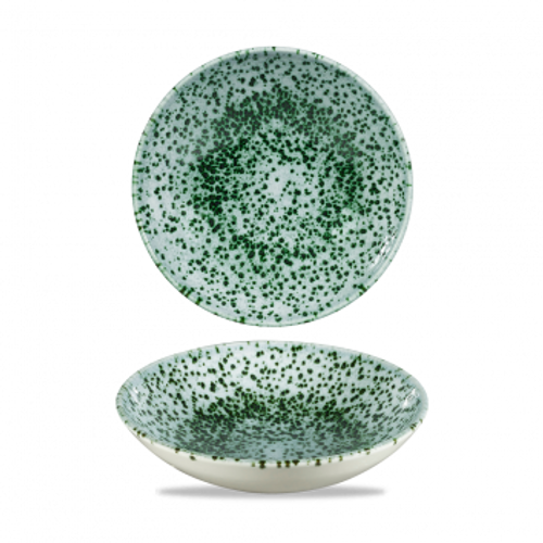 """Churchill - Mineral 7.25"""" Mineral Green Round Coupe Bowl  - 12/Case"""