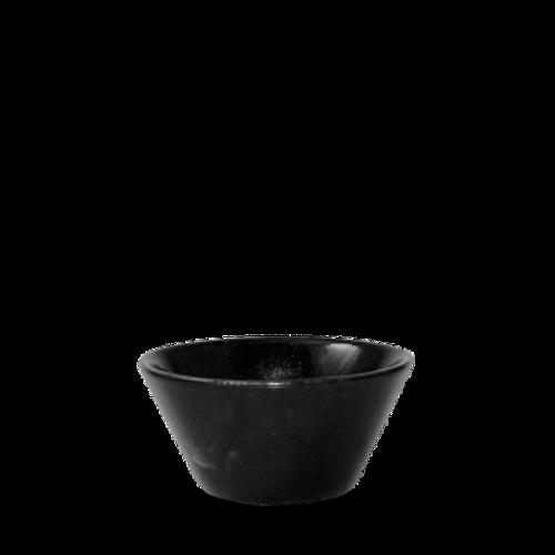 Churchill - Bit on the Side 10 oz Black  Round Bowl  - 12/Case