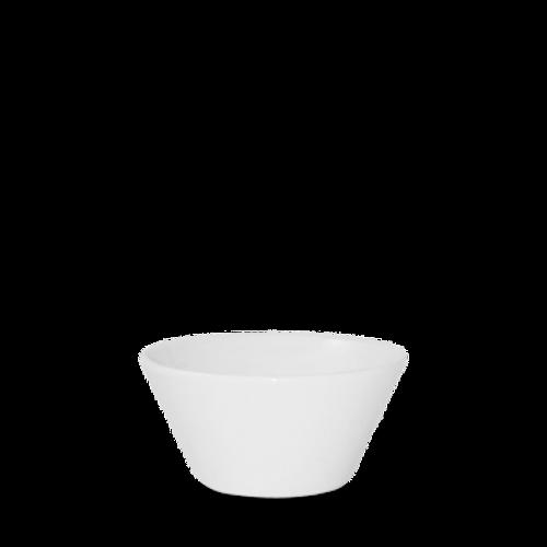 Churchill - Bit on the Side 10 oz White Round Bowl  - 12/Case