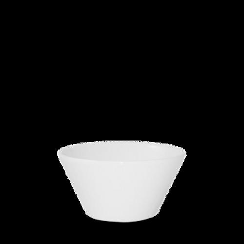 Churchill - Bit on the Side 12 oz White Round Bowl  - 12/Case