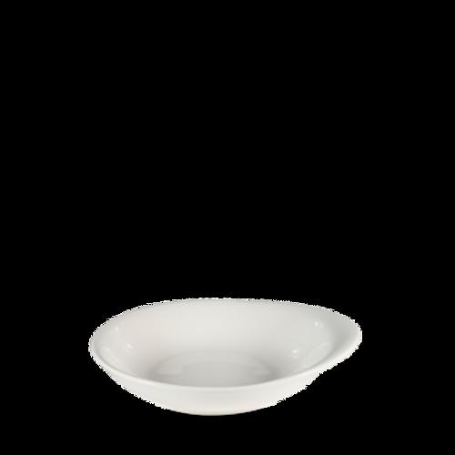 "Churchill - Bit on the Side 6.5"" x 5.5"" White Round Bowl  - 12/Case"