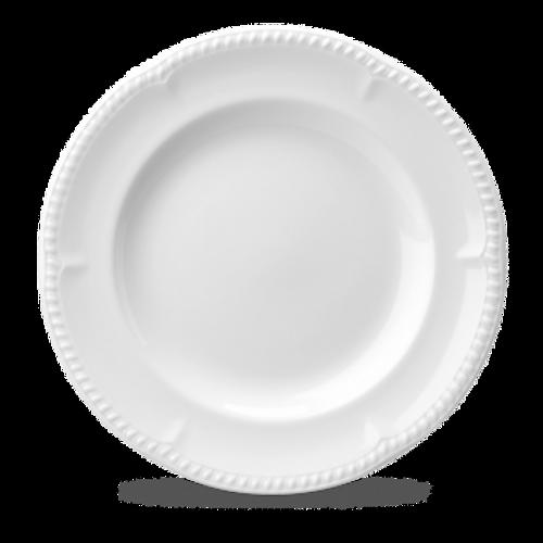 "Churchill - Buckingham 11"" White Round Plate - 12/Case"