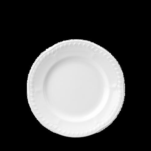 "Churchill - Buckingham 6.5"" White Round Plate - 24/Case"