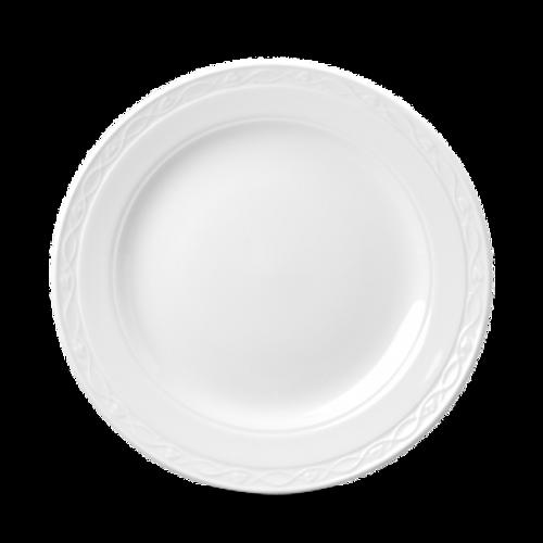 "Churchill - Chateau 10"" White Round Plate - 24/Case"