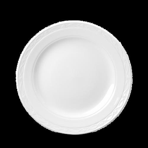 "Churchill - Chateau 9"" White Round Plate - 24/Case"