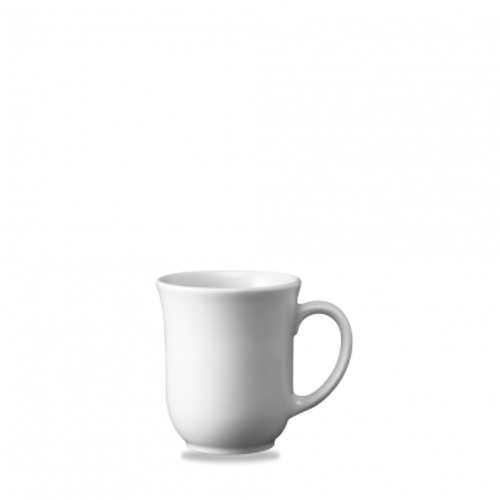 Churchill - White Holloware 10 oz Elegant Mug - 24/Case