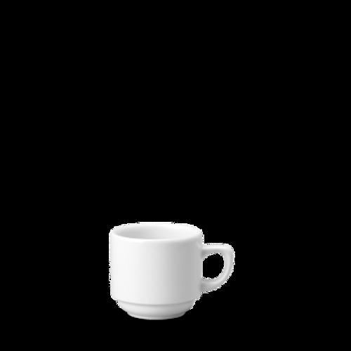 Churchill - White Holloware 7 oz Teacup - 24/Case