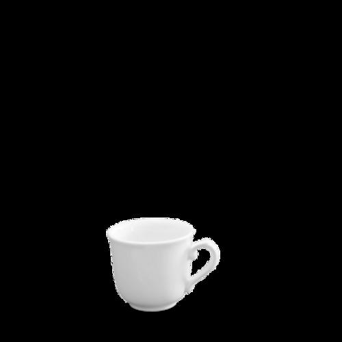 Churchill - White Holloware 7 oz Sandringham Elegant Cup - 24/Case