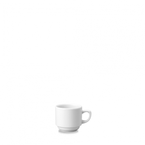 Churchill - White Holloware 3 oz Mocha Coffee Cup - 24/Case