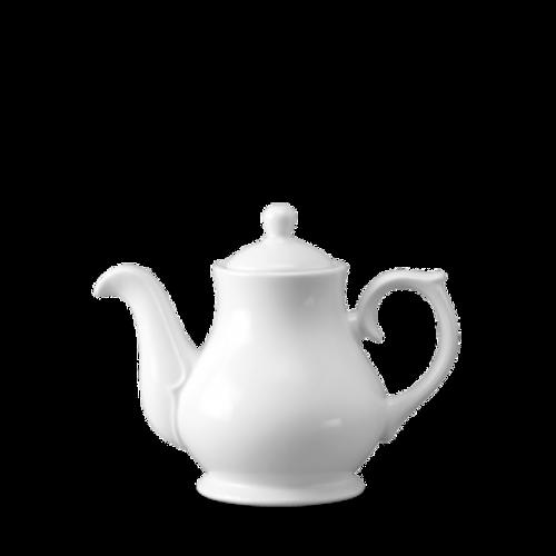 Churchill - White Holloware 15 oz Sandringham Tea/Coffee Pot - 4/Case