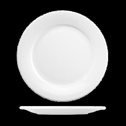 "Churchill - Art De Cuisine 10.5"" White Round Plate - 6/Case"