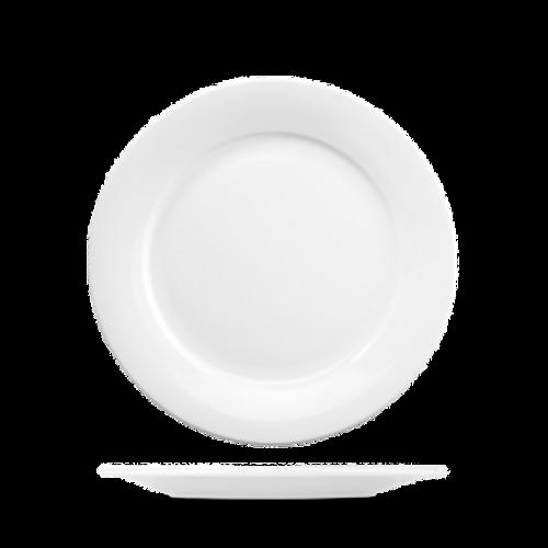 "Churchill - Art De Cuisine 9"" White Round Plate - 6/Case"