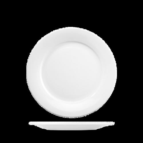 "Churchill - Art De Cuisine 8"" White Round Plate - 6/Case"