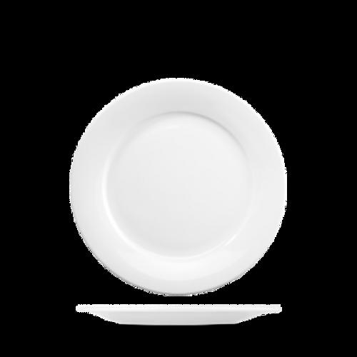"Churchill - Art De Cuisine 6.75"" White Round Plate - 6/Case"
