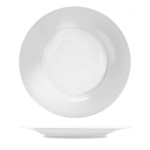 "Churchill - Art De Cuisine 12"" White Round Plate - 6/Case"