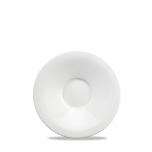 "Churchill - Art De Cuisine 6.5"" White Round Saucer - 6/Case"