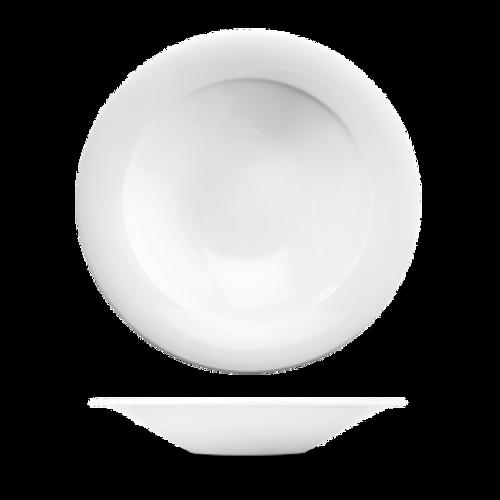 Churchill - Art De Cuisine 20 oz White Round Medium Rim Pasta Bowl  - 6/Case