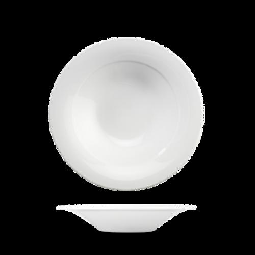 Churchill - Art De Cuisine 10 oz White Round Medium Rim Soup Bowl  - 6/Case