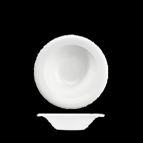 Churchill - Art De Cuisine 7 oz White Round Medium Rim Bowl  - 6/Case