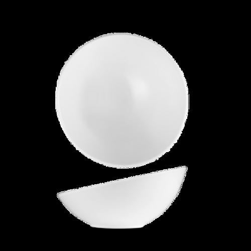 "Churchill - Art De Cuisine 7"" x 3"" White Round Slanted Bowl  - 6/Case"