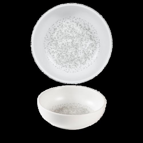 Churchill - Art De Cuisine 16.9 oz Caldera Chalk White Bowl - 6/Case