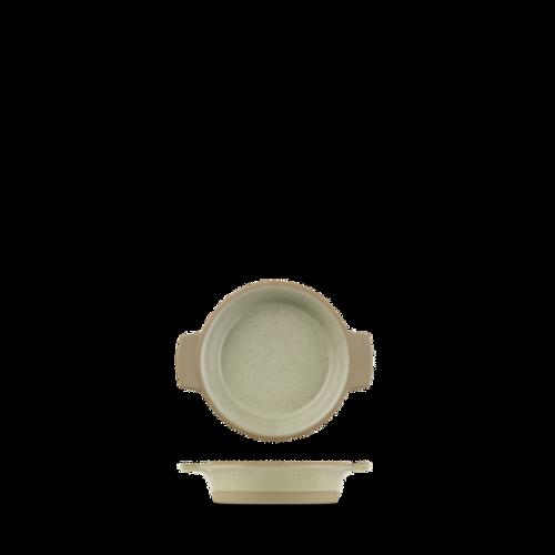 Churchill - Igneous 6 oz Igneous Natural Individual Dish - 6/Case