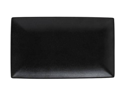 "Maxwell & Williams - Caviar 13.5"" Black Granite Rectangular Platter"