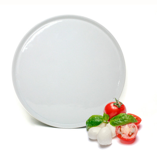 BIA - White Large Pizza Plate - 904571WH