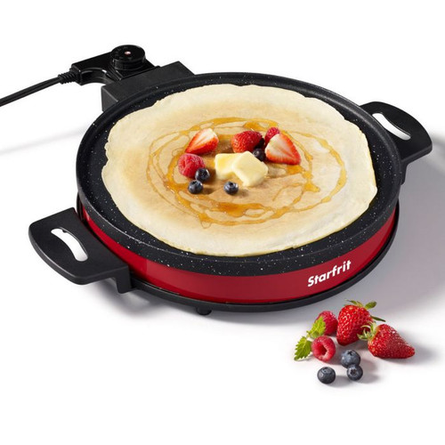 """StarFrit - The Rock 12"""" Electric Crepe Maker"""