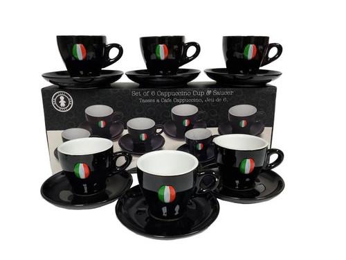 Adamo- Set of 6 Espresso Cup & Saucer