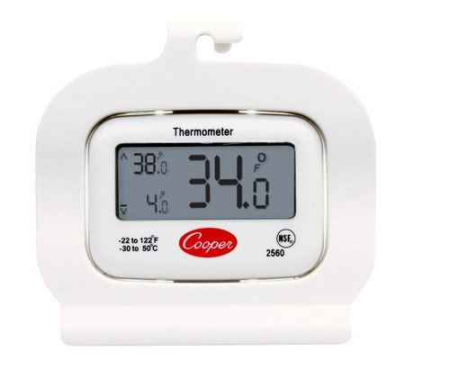 Cooper - Digital Refrigerator / Freezer Thermometer - 2560