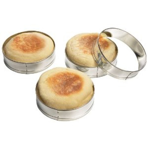 Fox Run - Set of 4 English Muffin Rings