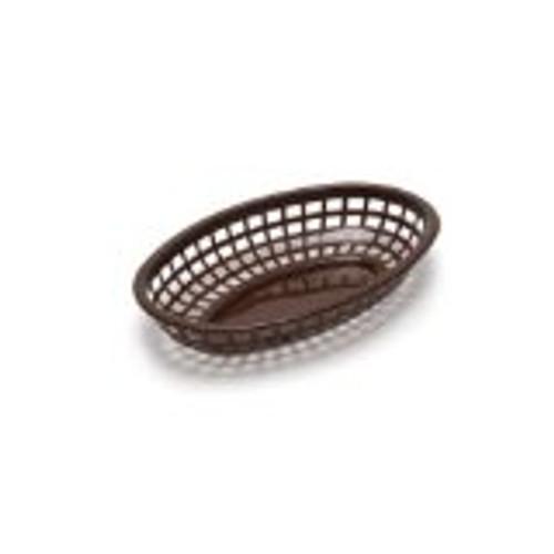 Tablecraft - Basket, Oval Brown 7.75' x 5.5' x 2'  Mini - 1071BR