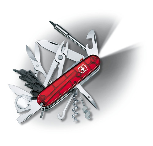 Swiss Army - Fire Ruby CyberTool Lite - Victorinox - 53969