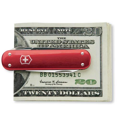 Swiss Army - Red Money Clip - Victorinox - 53739