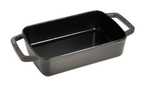 Staub - 3.15 L (3.25 QT) Grey Roasting Pan