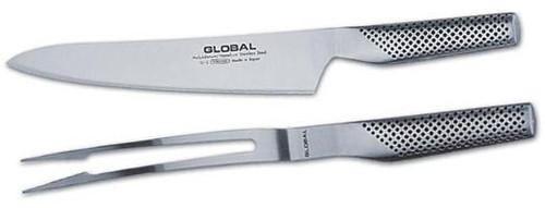 Global - Carving Knife & Fork Set - GLB-71G313