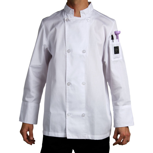 Chef Revival - Medium White Cool Crew Chef Jacket - 20258